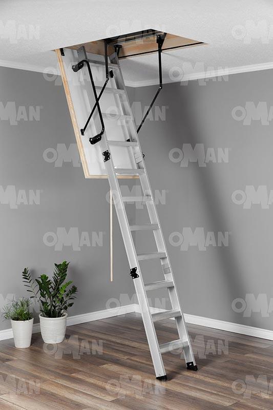 Складная чердачная лестница Oman Alu Profi Polar