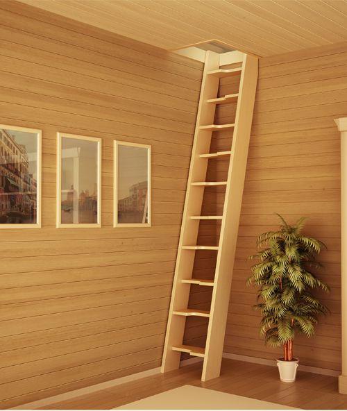 Деревянная лестница своими руками чердачная